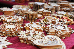 Wooden Decoration Stock Images