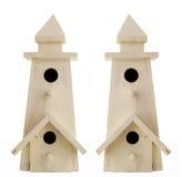 Wooden Decorative Birdhouses Royalty Free Stock Image