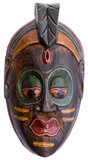 Wooden decorative mask Royalty Free Stock Photos