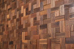 Wooden decorative surface Royalty Free Stock Images