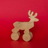 Wooden deer. Stock Photography