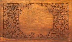Wooden desk Royalty Free Stock Photos