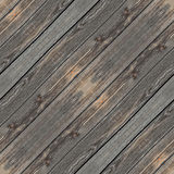 Wooden desk gray and brown seamless background Stock Photography