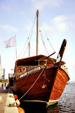 Wooden dhow Stock Photography