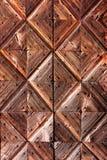 Wooden diamonds background Stock Photography