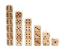 Wooden Dice Stock Photos
