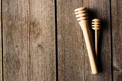 Wooden dippers Royalty Free Stock Photography