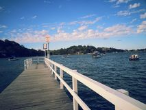 Wooden dock Royalty Free Stock Photos