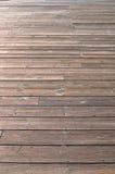 Wooden Dock Background, horizontal view. 4x4 wooden aged wooden dock, horizontal pattern Stock Image