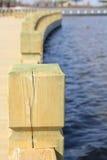 Wooden Dock Royalty Free Stock Photos