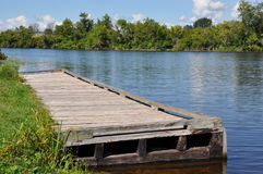Wooden dock Stock Image