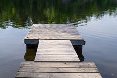 Wooden dock Stock Photography