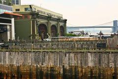 Wooden docks Stock Photo