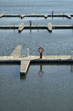Wooden docks Royalty Free Stock Photography
