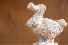 Wooden Dodo bird - typical souvenir from Mauritius island. Dodo Royalty Free Stock Photography