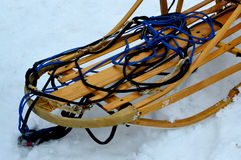 Wooden Dogsled Royalty Free Stock Image