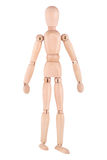 Wooden doll Stock Image