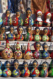 Wooden dolls Stock Photo