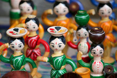 Wooden dolls Royalty Free Stock Photography