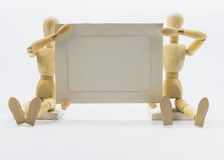 Wooden dolls Stock Photography