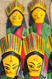 Wooden Dolls. Royalty Free Stock Image