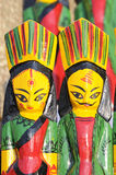 Wooden Dolls. Royalty Free Stock Images