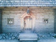 76-Wooden dom zdjęcie royalty free