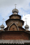 Wooden dome. Museum of Wooden Architecture Royalty Free Stock Photography