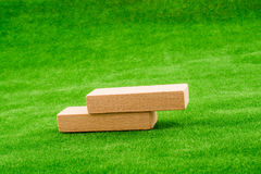 Wooden dominos Royalty Free Stock Image