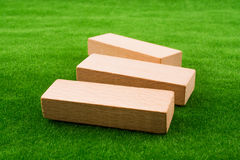 Wooden dominos Royalty Free Stock Photos