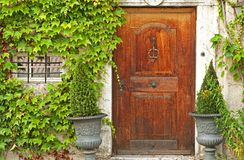 Wooden door Royalty Free Stock Image