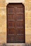 Wooden door. Royalty Free Stock Images