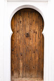 Wooden door Stock Image