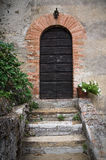 Wooden door. Royalty Free Stock Images