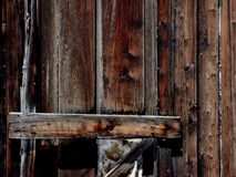 Wooden door. Old wooden door Stock Photos