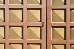 Wooden door Stock Photography