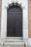 Wooden door royalty free stock photos