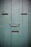 Wooden door as an human face Royalty Free Stock Photos