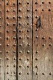Wooden door background Royalty Free Stock Images