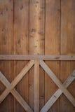 Wooden door background Stock Images
