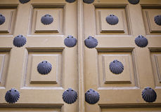 Door shells Royalty Free Stock Images