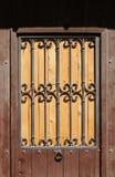 Wooden door Royalty Free Stock Images