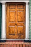 Old door United Kingdom. Wooden door entrance at old house at Liverpool, United Kingdom Stock Photography