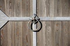 The wooden door. Stock Photography
