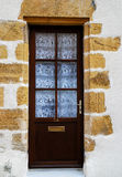 Wooden door in france Royalty Free Stock Photography