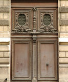 Wooden door in france Stock Photography