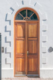 Wooden door in Graaff Reinet Royalty Free Stock Photos