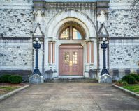 Free Wooden Door In Nashville Tennessee Royalty Free Stock Images - 100416099