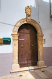 Wooden door. Ischitella. Puglia. Italy. Stock Photo