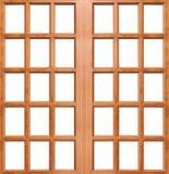 Wooden door isolated Stock Photos